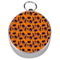 Witch Hat Pumpkin Candy Helloween Blue Orange Silver Compasses