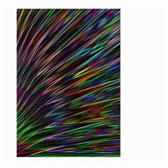 Texture Colorful Abstract Pattern Large Garden Flag (two Sides)