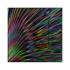Texture Colorful Abstract Pattern Acrylic Tangram Puzzle (6  x 6 )