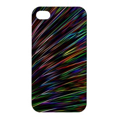 Texture Colorful Abstract Pattern Apple Iphone 4/4s Premium Hardshell Case
