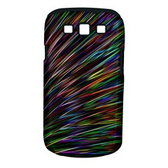Texture Colorful Abstract Pattern Samsung Galaxy S Iii Classic Hardshell Case (pc+silicone)