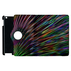 Texture Colorful Abstract Pattern Apple Ipad 3/4 Flip 360 Case