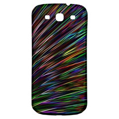 Texture Colorful Abstract Pattern Samsung Galaxy S3 S Iii Classic Hardshell Back Case