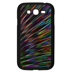 Texture Colorful Abstract Pattern Samsung Galaxy Grand Duos I9082 Case (black)