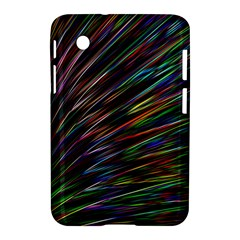 Texture Colorful Abstract Pattern Samsung Galaxy Tab 2 (7 ) P3100 Hardshell Case