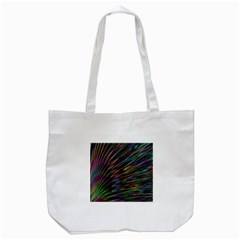 Texture Colorful Abstract Pattern Tote Bag (white)