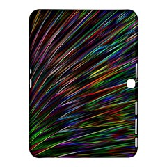 Texture Colorful Abstract Pattern Samsung Galaxy Tab 4 (10 1 ) Hardshell Case