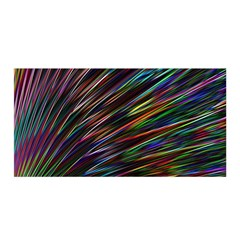 Texture Colorful Abstract Pattern Satin Wrap