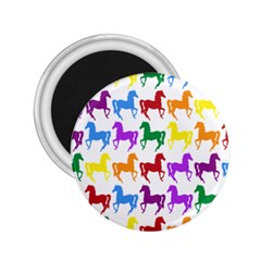 Colorful Horse Background Wallpaper 2.25  Magnets
