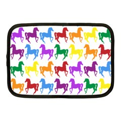 Colorful Horse Background Wallpaper Netbook Case (medium)