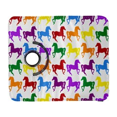 Colorful Horse Background Wallpaper Galaxy S3 (flip/folio)