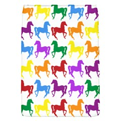 Colorful Horse Background Wallpaper Flap Covers (S)