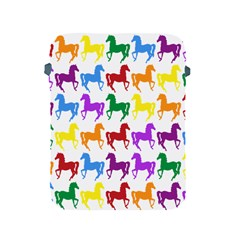 Colorful Horse Background Wallpaper Apple Ipad 2/3/4 Protective Soft Cases