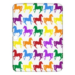 Colorful Horse Background Wallpaper Samsung Galaxy Tab 3 (10.1 ) P5200 Hardshell Case
