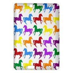 Colorful Horse Background Wallpaper Amazon Kindle Fire Hd (2013) Hardshell Case