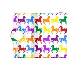 Colorful Horse Background Wallpaper Kindle Fire Hdx 8 9  Flip 360 Case