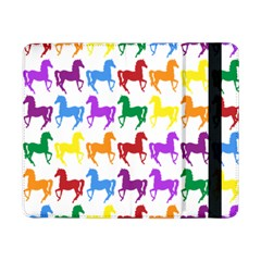 Colorful Horse Background Wallpaper Samsung Galaxy Tab Pro 8 4  Flip Case