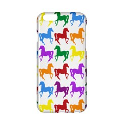 Colorful Horse Background Wallpaper Apple Iphone 6/6s Hardshell Case