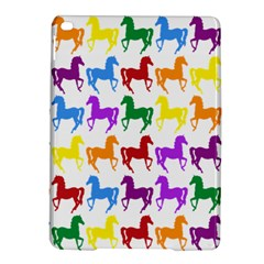 Colorful Horse Background Wallpaper iPad Air 2 Hardshell Cases