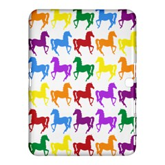 Colorful Horse Background Wallpaper Samsung Galaxy Tab 4 (10.1 ) Hardshell Case