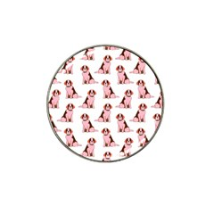 Dog Animal Pattern Hat Clip Ball Marker (4 Pack)