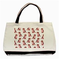 Dog Animal Pattern Basic Tote Bag