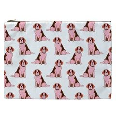 Dog Animal Pattern Cosmetic Bag (xxl)