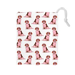 Dog Animal Pattern Drawstring Pouches (large)
