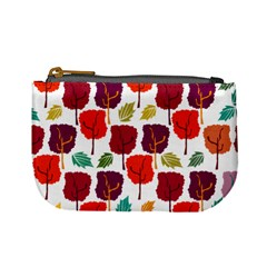 Tree Pattern Background Mini Coin Purses