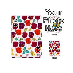Tree Pattern Background Playing Cards 54 (mini)