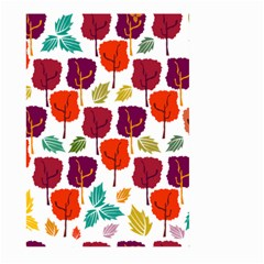 Tree Pattern Background Large Garden Flag (two Sides)
