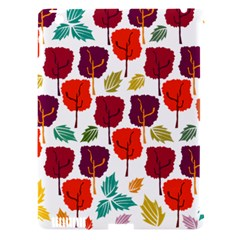 Tree Pattern Background Apple Ipad 3/4 Hardshell Case (compatible With Smart Cover)