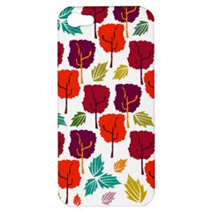 Tree Pattern Background Apple iPhone 5 Hardshell Case