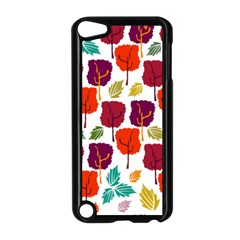 Tree Pattern Background Apple Ipod Touch 5 Case (black)