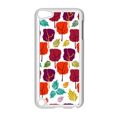 Tree Pattern Background Apple Ipod Touch 5 Case (white)