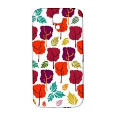 Tree Pattern Background Samsung Galaxy S4 I9500/i9505  Hardshell Back Case