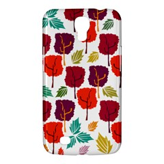 Tree Pattern Background Samsung Galaxy Mega 6 3  I9200 Hardshell Case