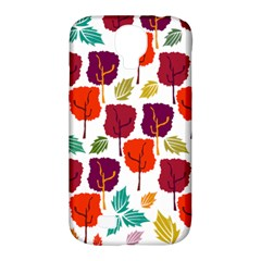 Tree Pattern Background Samsung Galaxy S4 Classic Hardshell Case (pc+silicone)