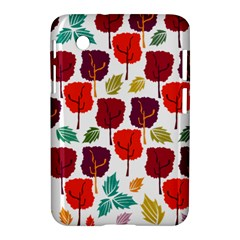Tree Pattern Background Samsung Galaxy Tab 2 (7 ) P3100 Hardshell Case