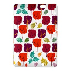 Tree Pattern Background Kindle Fire Hdx 8 9  Hardshell Case