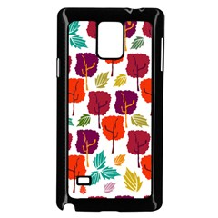 Tree Pattern Background Samsung Galaxy Note 4 Case (black)