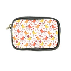 Animal Pattern Happy Birds Seamless Pattern Coin Purse