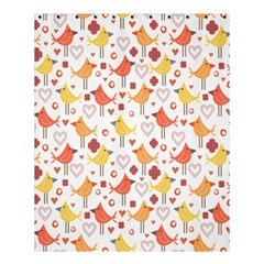 Animal Pattern Happy Birds Seamless Pattern Shower Curtain 60  X 72  (medium)