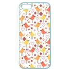 Animal Pattern Happy Birds Seamless Pattern Apple Seamless iPhone 5 Case (Color) Front