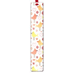 Animal Pattern Happy Birds Seamless Pattern Large Book Marks