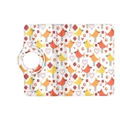 Animal Pattern Happy Birds Seamless Pattern Kindle Fire Hd (2013) Flip 360 Case