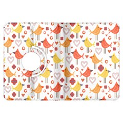 Animal Pattern Happy Birds Seamless Pattern Kindle Fire HDX Flip 360 Case