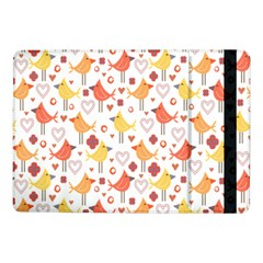 Animal Pattern Happy Birds Seamless Pattern Samsung Galaxy Tab Pro 10 1  Flip Case