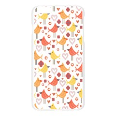 Animal Pattern Happy Birds Seamless Pattern Apple Seamless iPhone 6 Plus/6S Plus Case (Transparent)