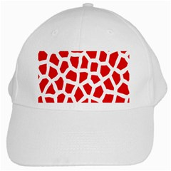 Animal Animalistic Pattern White Cap